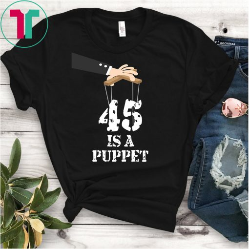 45 Is A Puppet Meme T-Shirt