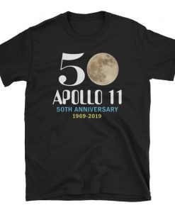 50 Apollo 11 50th Anniversary Short-Sleeve Unisex T-Shirt, Astronaut Shirt