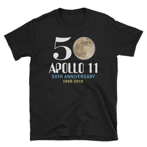 50 Apollo 11 50th Anniversary Short-Sleeve Unisex T-Shirt, Astronaut Shirt