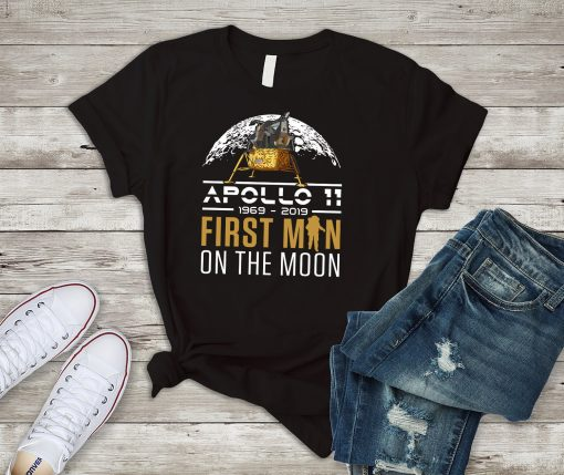 50th Anniversary Apollo 11 Moon Landing 1969 Shirt in Celebration of NASA Lunar Mission