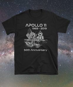 Apollo 11 (1969-2019) 50th Anniversary Commemorative NASA Shirt