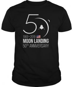 Apollo 11 50th Anniversary Moon Landing 1969 2019 T-Shirt
