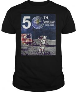 Apollo 11 50th Anniversary Moon Landing 1969 2019 Tee Shirt