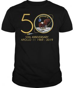 Apollo 11 50th Anniversary Moon Landing July 20 1969 - 2019 Gift T-Shirt