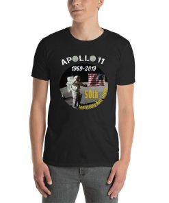 Apollo 11 50th Anniversary Moon Landing t shirt-Nasa Moon Space shirt