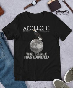 Apollo 11 50th Anniversary Shirt Mens And Womens First Moon Landing Gift Souvenir Unisex T-Shirt