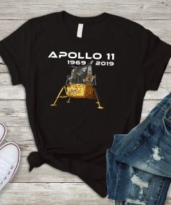 Apollo 11 Lunar Lander Moon Landing 1969 Shirt for First Man on the Moon 50th Anniversary Gift for NASA fans and supporters