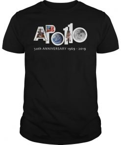 Apollo 11 Moon Landing 50th Anniversary T Shirt