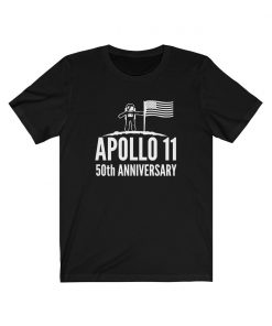 Apollo 11 Moon Landing 50th Anniversary T-Shirt Astronaut Celebration Souvenir Of Lunar Space Mission Man On The Moon Unisex Jersey Tee