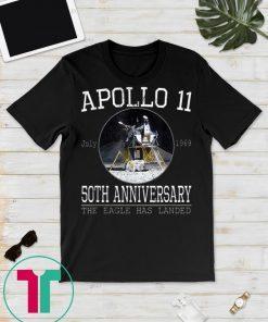 Apollo 11 Moon Landing T Shirt 50th Anniversary 1969 2019 Gift T-Shirts