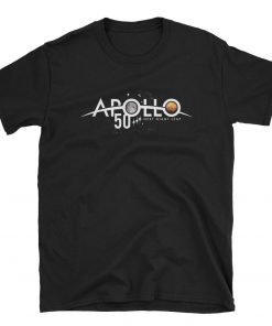 Apollo 50th Anniversary Tshirt First the Moon, next Mars NASA T-Shirt
