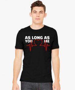 Backstreet Boys Love Heart As Long As You Love Me T-Shirt