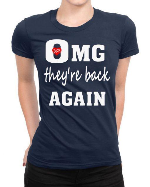 Backstreet Boys OMG They Are Back Again T-Shirt