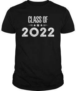 Class of 2022 Grow with Me Graduation Year T-Shirt