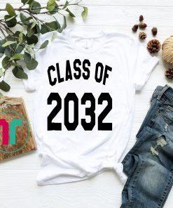 Class of 2032 T-shirt - Starting Kindergarten 2019 Tee