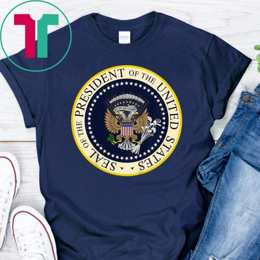 One Term Donnie Fake Presidential Seal T-Shirt