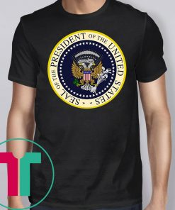Trump Parody Fake Presidential Seal 45 Puppet Russian Eagle Anti Trump Shirt