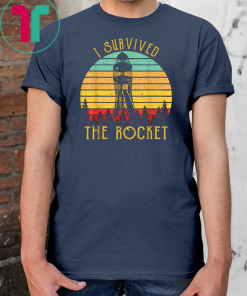 Vintage I Survived the Rocket Slide Gift T-Shirt