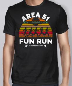 Vintage Storm Area 51 Fun Run Shirt