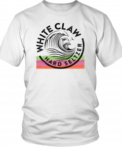 WHITE CLAW HARD SELTZER T SHIRT