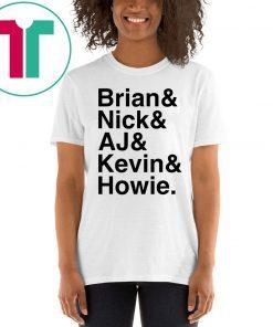 We All Love Backstreet Back Great Boys T-Shirt