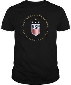 Women's World Cup Champions USWNT 2019 Shirt