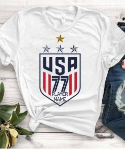Women's National Soccer Team Gift TShirt 4th starUSWNT Alex Morgan, Julie Ertz, Tobin Heath, Megan Rapinoe TShirts