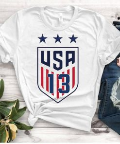 Women's National Soccer Team Shirt USWNT Alex Morgan, Julie Ertz, Tobin Heath, Megan Rapinoe Classic T-Shirt
