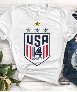 Women's National Soccer Team Shirt USWNT Alex Morgan, Julie Ertz, Tobin Heath, Megan Rapinoe Gift Tee Shirt