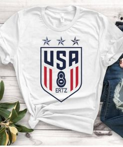 Women's National Soccer Team Shirt USWNT Alex Morgan, Julie Ertz, Tobin Heath, Megan Rapinoe Unisex Tee Shirts
