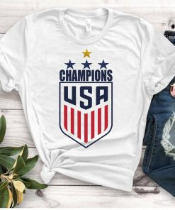 Women's National Soccer Team Shirt USWNT Alex Morgan, Julie Ertz, Tobin Heath, Megan Rapinoe. Unisex T-Shirts