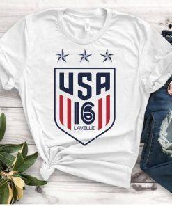 Women's National Soccer Team Shirt USWNT rose lavelle,Alex Morgan, Julie Ertz, Tobin Heath, Megan Rapinoe Unisex T-Shirt