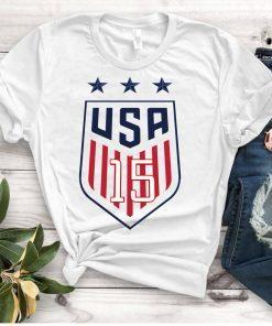 Women's National Soccer Team Tee Shirt USWNT Alex Morgan, Julie Ertz, Tobin Heath, Megan RapinoeT-Shirts