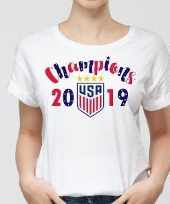 World Cup Champions Tshirt, Uswnt World Champions Shirt, Unisex Tshirt