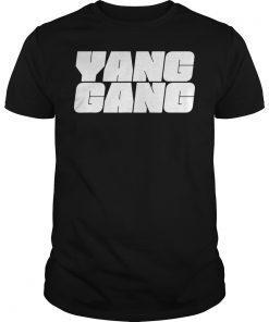 Yang Gang Andrew Yang 2020 US President Tshirt