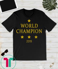 women's soccer US team win world champions 2019 T-shirt