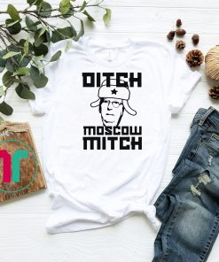 DITCH MOSCOW MITCH McConnell Anti Turtle Face Meme Impeach T-Shirt