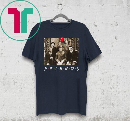 Psychodynamics Horror Characters Friends T-Shirt