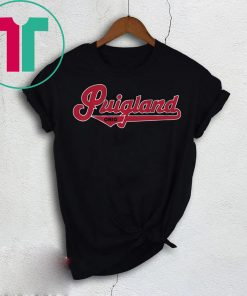 Yasiel Puig T-Shirt - Puigland, Cleveland, MLBPA