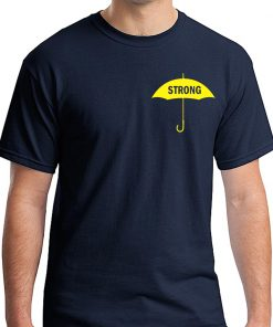 Yellow Umbrella Strong Hong Kong Movement Tee Shirt