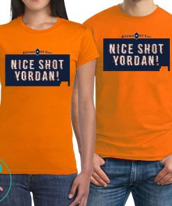 Yordan Alvarez Shirt - Nice Shot Yordan, Houston, MLBPA