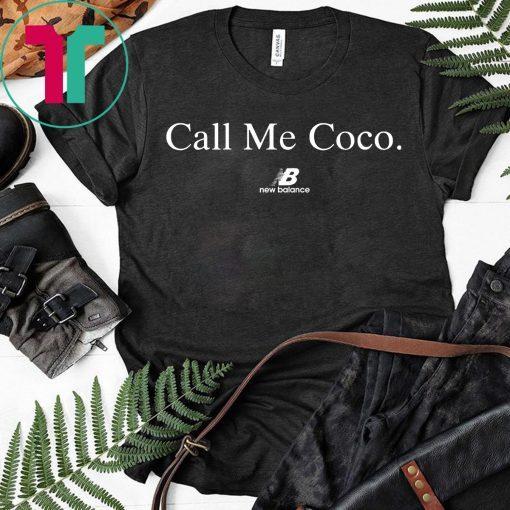 Call Me Coco Shirt Coco Gauff US Open T-Shirt