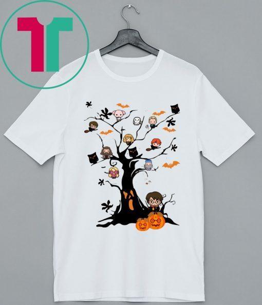 Halloween Harry Potter Tree T-Shirt