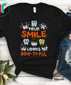 Your Smile Looks Boo-ti-ful Halloween Shirt