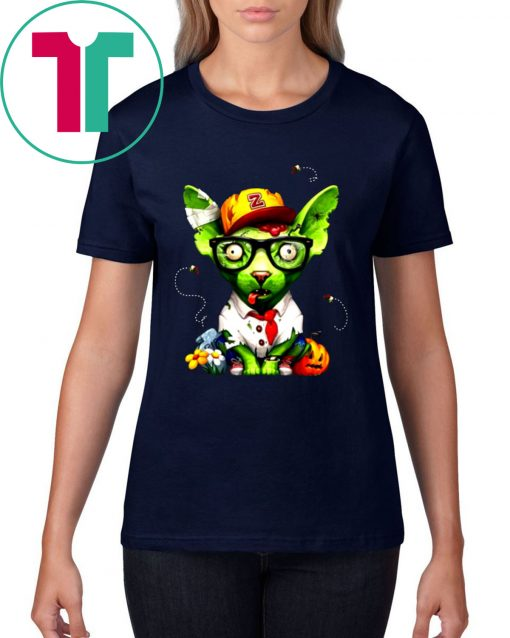 Zombie Sphynx Cat Halloween Limited Edition T-Shirt