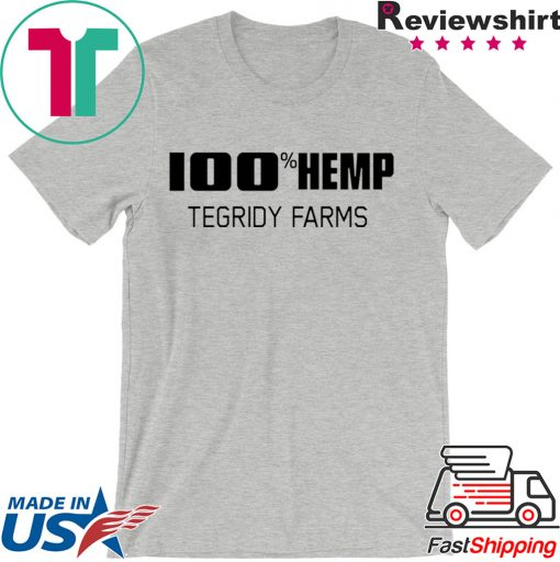 100% Hemp Tegridy Farms Parody Shirt