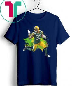 Aaron Jones Green Bay Packers Running Back T-Shirt