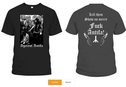 Behemoth's Nergal Reveals 'Black Metal Against Antifa' Gift Tee Shirt