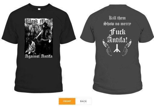 Behemoth's Nergal Reveals 'Black Metal Against Antifa' Gift Tee Shirt