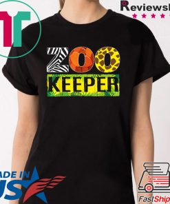 Zoo Keeper Wildlife Animal Lover T-Shirt